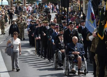 Bridlington Armed Forces Day 2019 Parade from Station approach through the town to Alderson House, where the Royal Navy were given the the freedom of the town. Pictures by Paul Atkinson: PA2019ArmedForcesDay-39